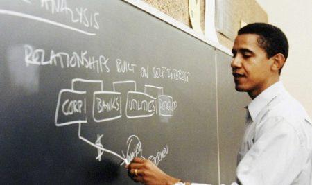 Những năm tháng làm giảng viên của cựu tổng thống Obama