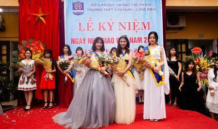 Lễ kỷ niệm ngày Nhà giáo Việt Nam 20/11/2018 và cuộc thi Miss Vạn Xuân 2018
